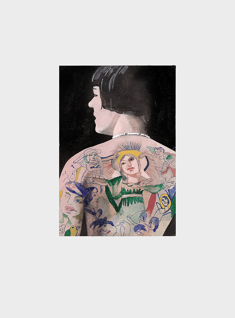, 'Tattoo People (Betty),' 2016, bo.lee gallery