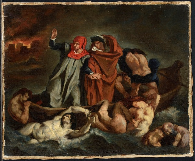 , 'The Barque of Dante (after Delacroix),' 1854, The National Gallery, London