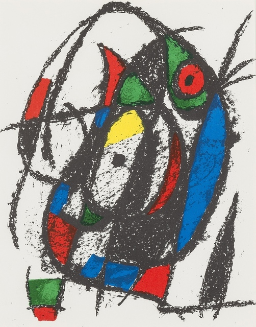 Joan Miró, 'Untitled; Untitled (from Lithographe II) (Cramer 198)', 1975, Forum Auctions