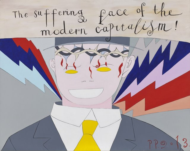 , 'The Suffering face of the modern capitalism,' 2013, Regina Gallery