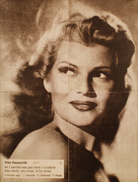 , 'Rita Hayworth,' 2013, Avant Gallery