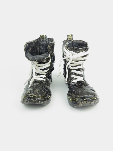 , 'Dr. Martens Boots,' 2019, V1 Gallery