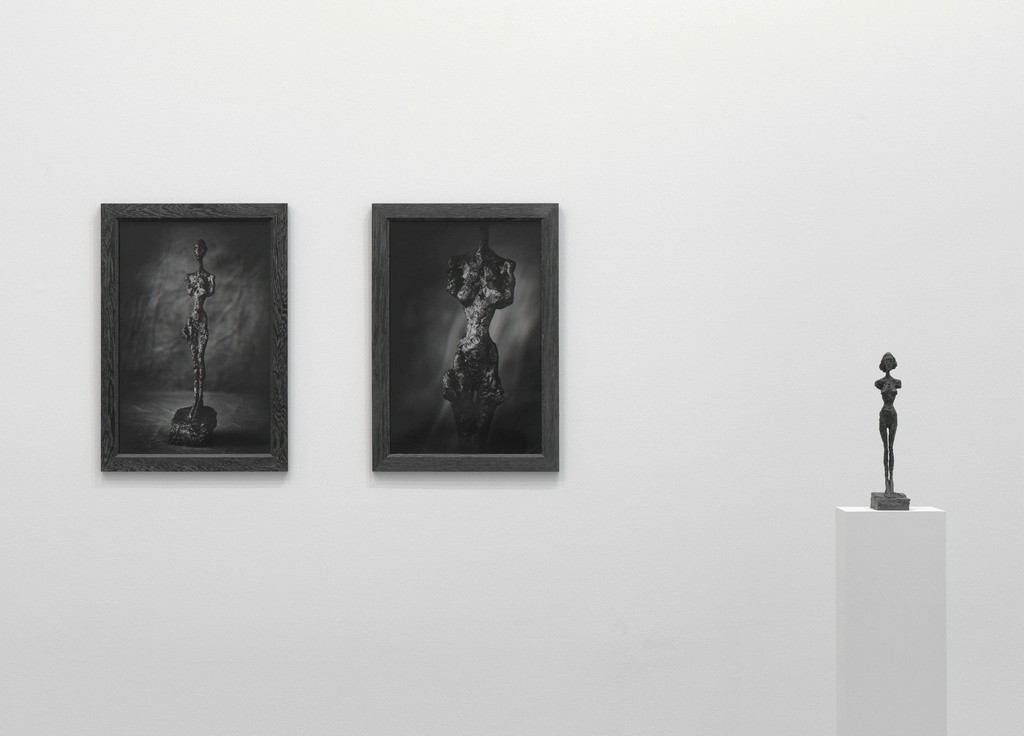All artworks © Peter Lindbergh. © Succession Alberto Giacometti (Fondation Giacometti + ADAGP) Paris 2017. Courtesy Gagosian. Installation photography: Mike Bruce.
