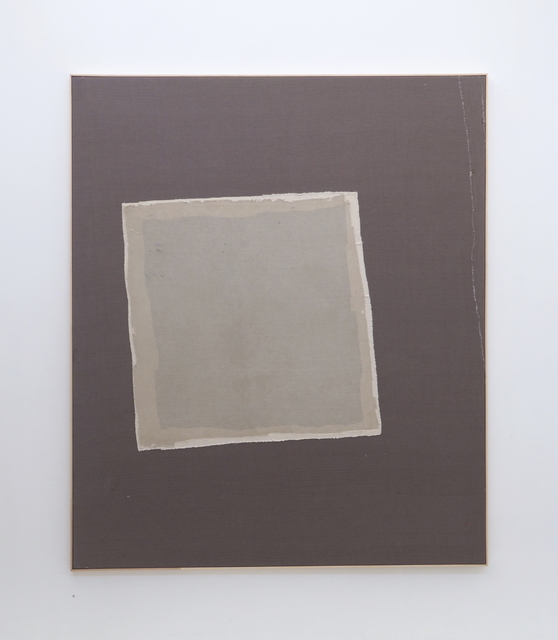, 'Slipping square,' 2018, The Muse Gallery & Studio