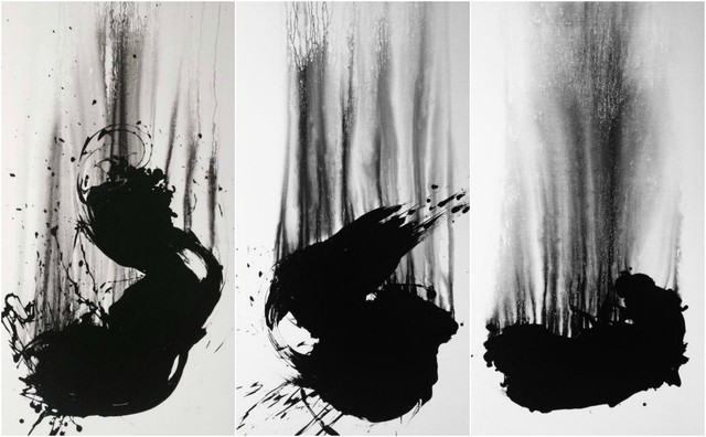 , 'The Fallen Angel No. 9 (Triptych),' 2013, Ben Brown Fine Arts