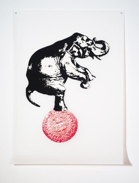 , 'Circus (Red),' 2012, C. Grimaldis Gallery