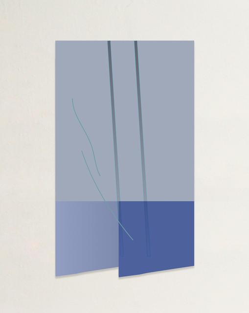 Genevieve Chua, 'Two Blue Diagonals, Again and Again', 2019, Art Porters
