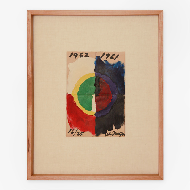 Alfred Jensen | Untitled (1961-1962) | Available for Sale | Artsy
