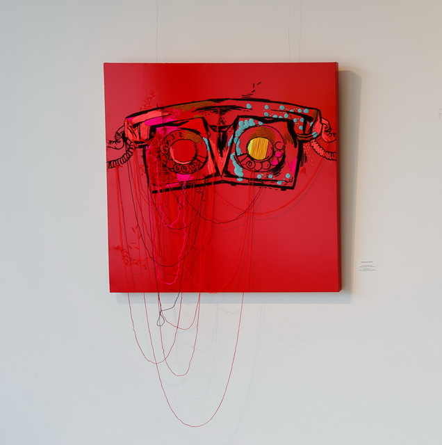 , 'Red phone,' 2014, Marina Gisich Gallery