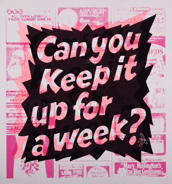 , 'Can You Keep It Up (Pink),' 2016, Lawrence Alkin Gallery