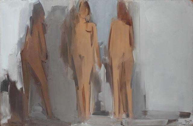 , 'Trois nus pour un espace,' 1968, Jeanne Bucher Jaeger