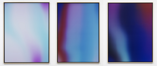 , 'Into Time 14 05 XX (triptych),' 2014, Upstream Gallery