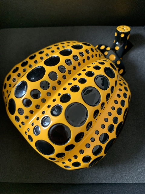Yayoi Kusama, 'YAYOI KUSAMA NAOSHIMA YELLOW PUMPKIN JAPAN EXCLUSIVE', 2013, Sculpture, Painted cast resin housed in its original box, Arts Limited