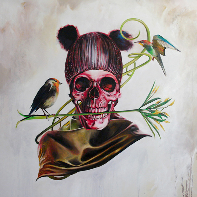 , 'Around the Skull,' 2103, Wide Painting