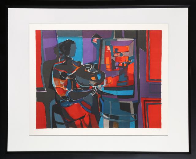 Marcel Mouly, 'Artiste dans l'Studio', ca. 1977, RoGallery