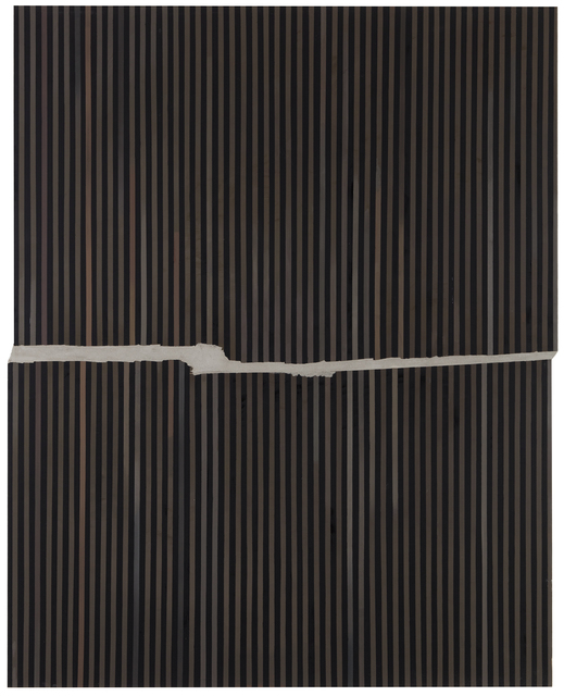 , 'Renovation (stripes),' 2018, Galerie Anhava