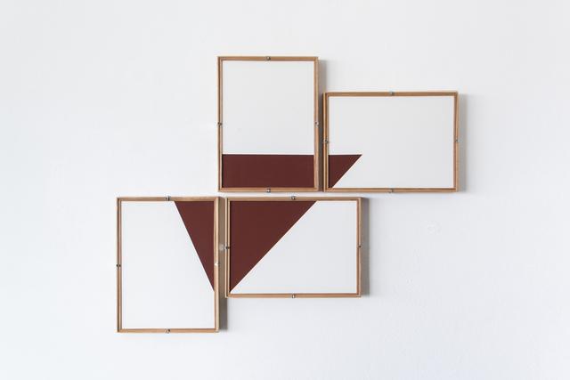 , 'Red Composition No.12,' 2017, Casa Triângulo