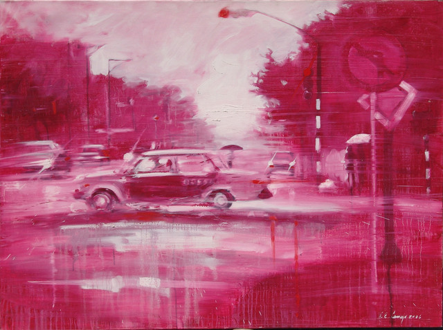 , 'La Habana En Rojo,' 2006, Robert Berman Gallery