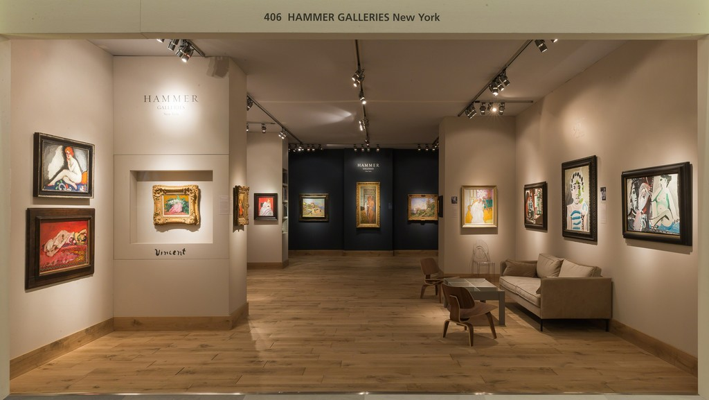 Exhibition Stand Galleries : Tefaf twenty iii hammer galleries artsy