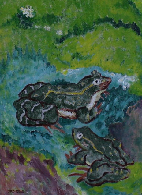 ede-else, 'Just Frogs', ca. 1935, VHD Gallery