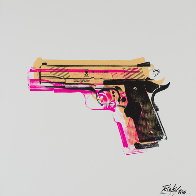 , 'Tools of the Trade (Gun),' 2016, Weinstein Gallery