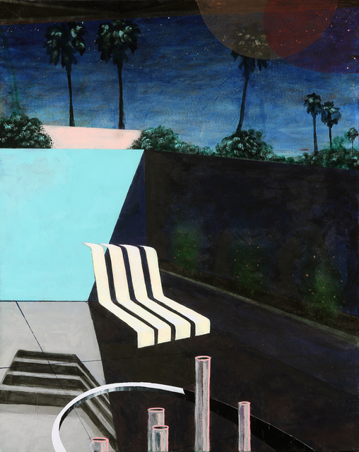 , 'Exterior with Chair after Richard,' 2017, Eleanor Harwood Gallery