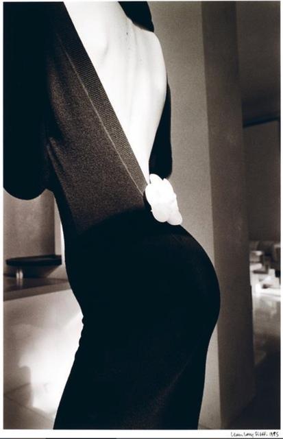 Jeanloup Sieff, 'Robe Noire de Dos, Paris', 1985, Bernheimer Fine Art