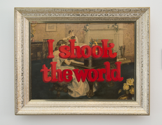 , 'I Shook the World,' 2017, Joshua Liner Gallery