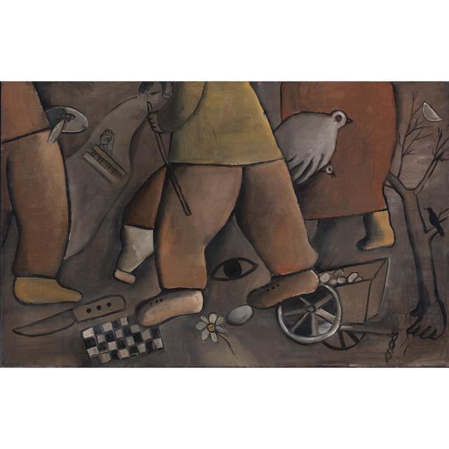 , 'Imágenes del Kibutz ,' 1969, Galería de las Misiones