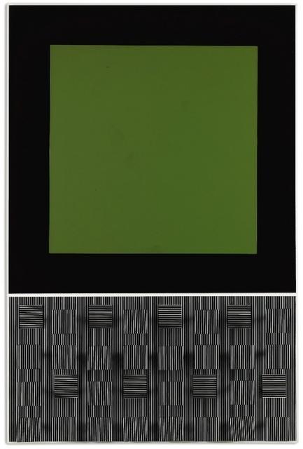 , 'Verde y rayado,' 1993, Galeria Freites