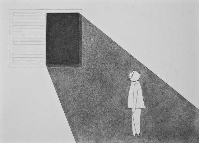 , 'Darkness in the window,' , Lois Lambert Gallery