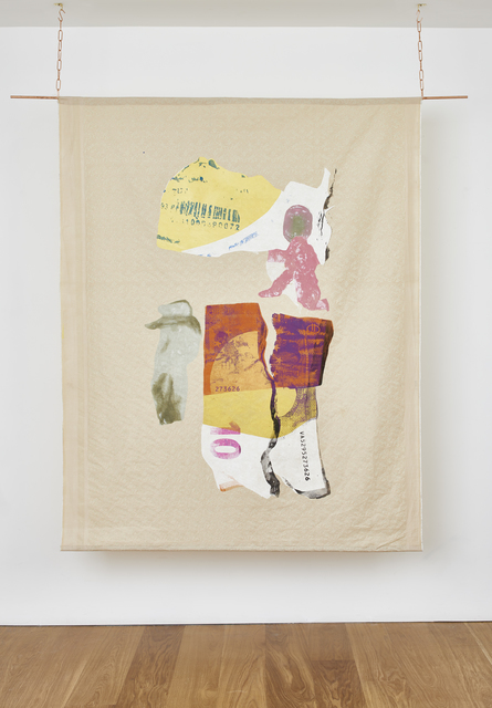 , 'Knotted plastic bags containing presumably native earth, Euro banknote and torn pharmaceutical packaging,' 2017, Timothy Taylor
