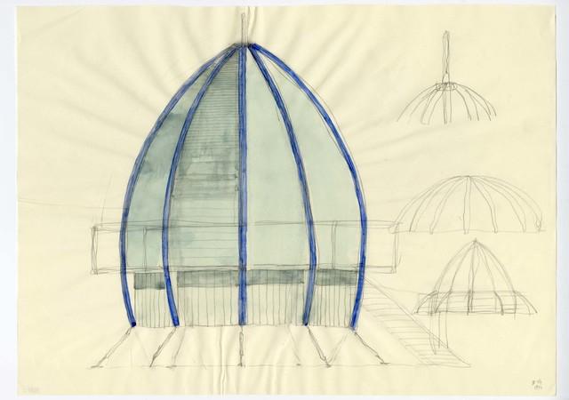 , 'Studio per Festival Office,' 1994, Antonia Jannone Disegni di Architettura