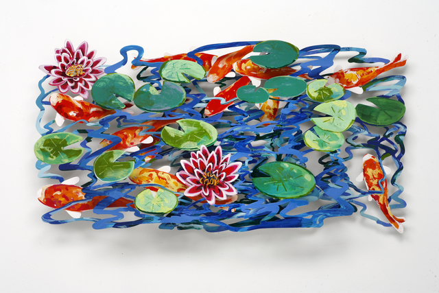 David Gerstein, 'POND荷塘', 2008, Installation, Steel不鏽鋼 3層, Artrue Gallery