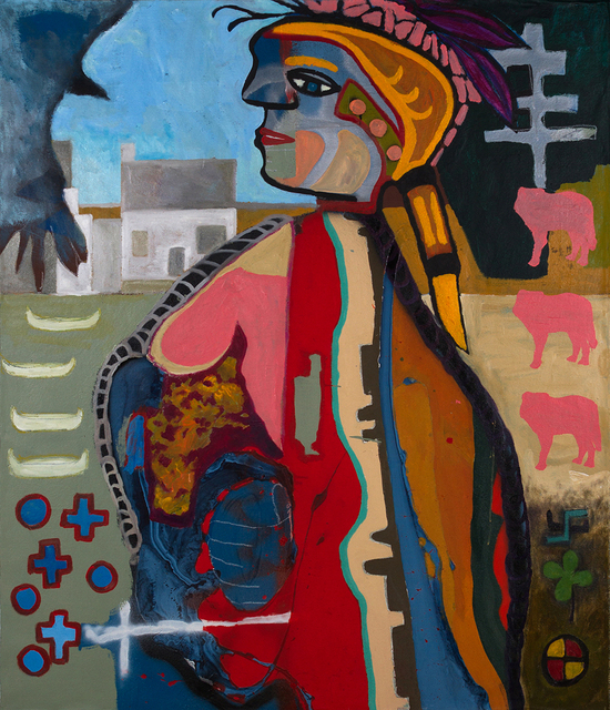 , 'Warrior Woman,' 2015, Eleven Twenty Projects