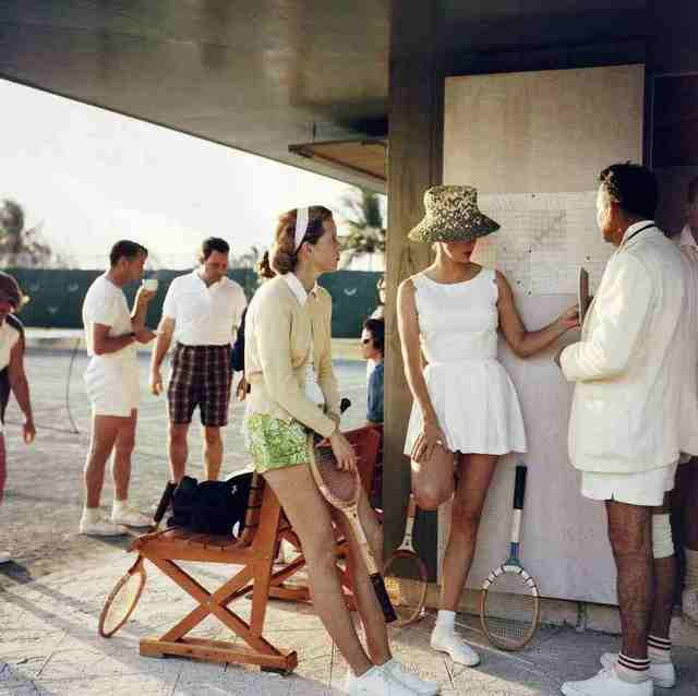, 'Tennis in the Bahamas,' 1956, IFAC Arts