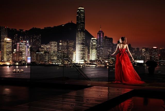 David Drebin, 'Girl In Hong Kong', 2009, Photography, Digital C-Print, Isabella Garrucho Fine Art