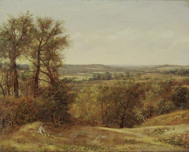 John Constable, 'Dedham Vale', 1802, Yale Center for British Art