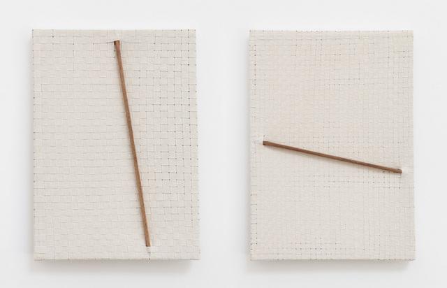 Jarbas Lopes, 'Pintura Elástica (diptych)', 2015, Baginski, Galeria/Projectos