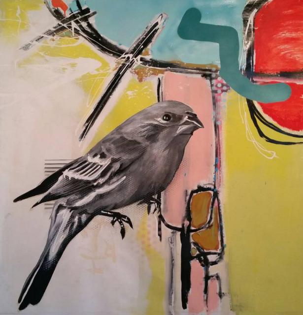 , 'Purple Bird,' 2016, Impact Art Gallery