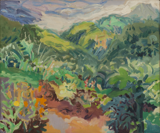 , 'Garden and Font des Serpents, St. Lucia,' 1965, Tibor de Nagy