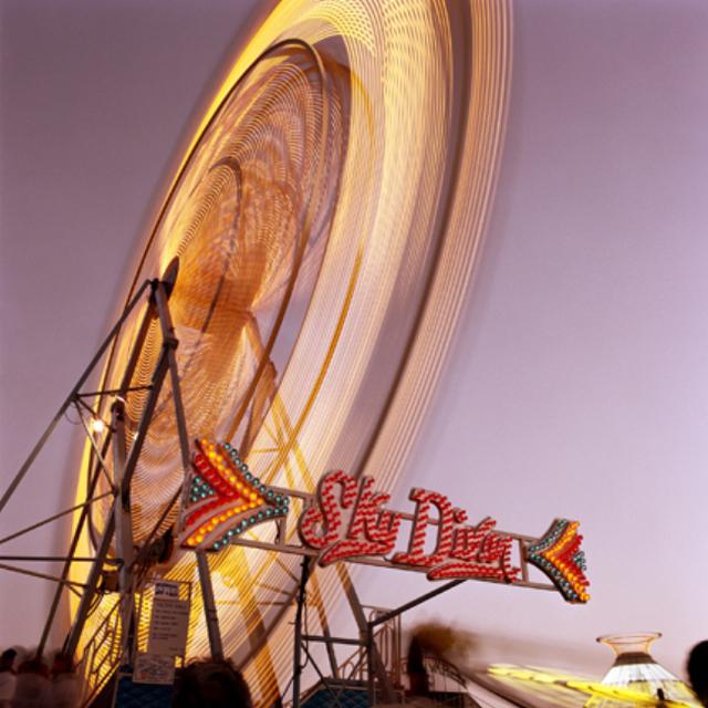 , 'Skydiver (Magenta), Santa Maria, California,,' 1988, Robert Mann Gallery
