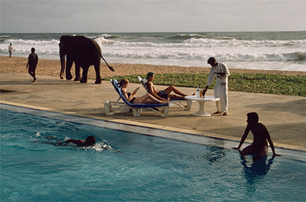 , 'Tourists Lounge Poolside, Sri Lanka,' 1995, Staley-Wise Gallery