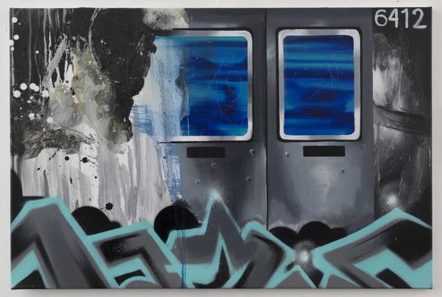 , 'Rush Hour in the Fleeting Blur,' 2017, GGA GALLERY