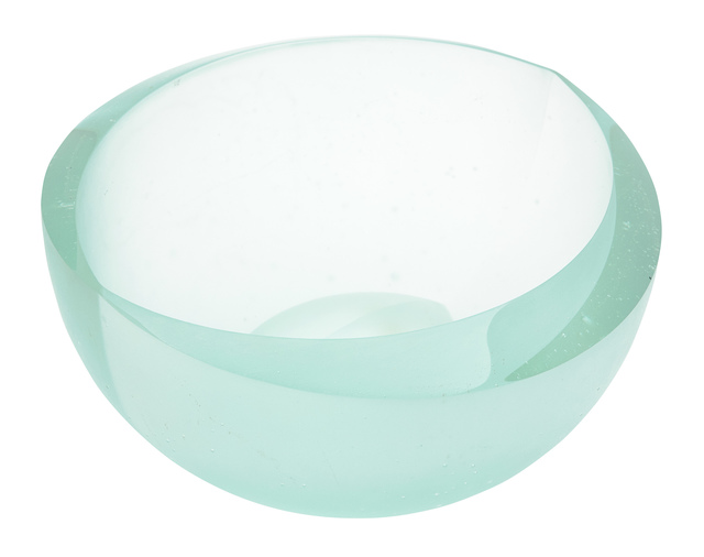'Zdenek Lhotský Cast Glass Bowl', Design/Decorative Art, Doyle