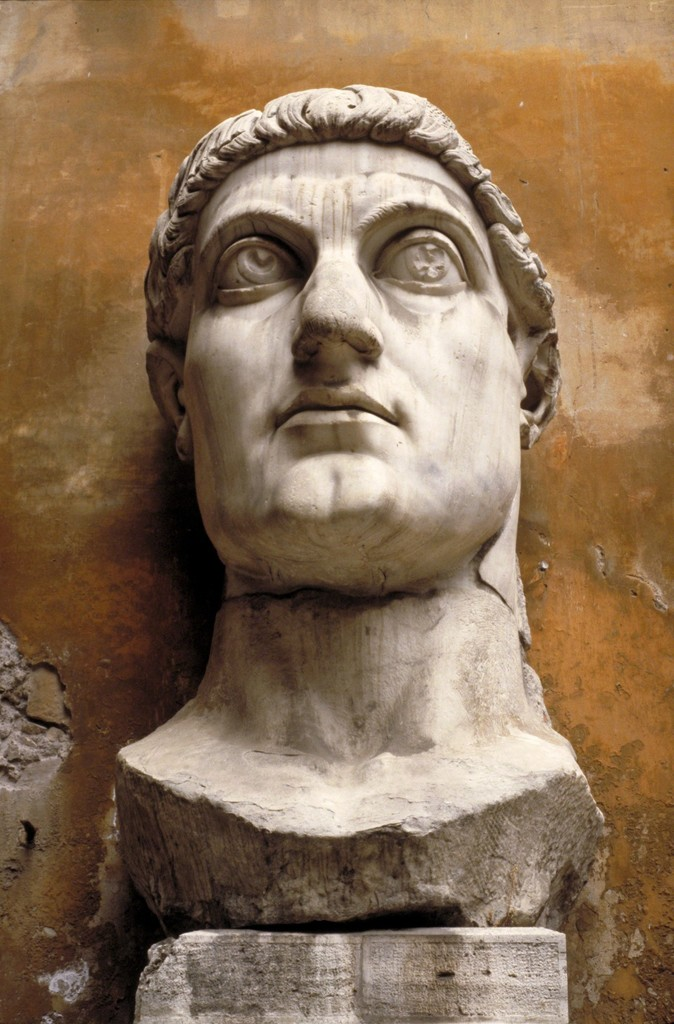 , 'Constantine the Great, head from a colossal statue,' ca. 313-315 (or 330)., Allan Kohl