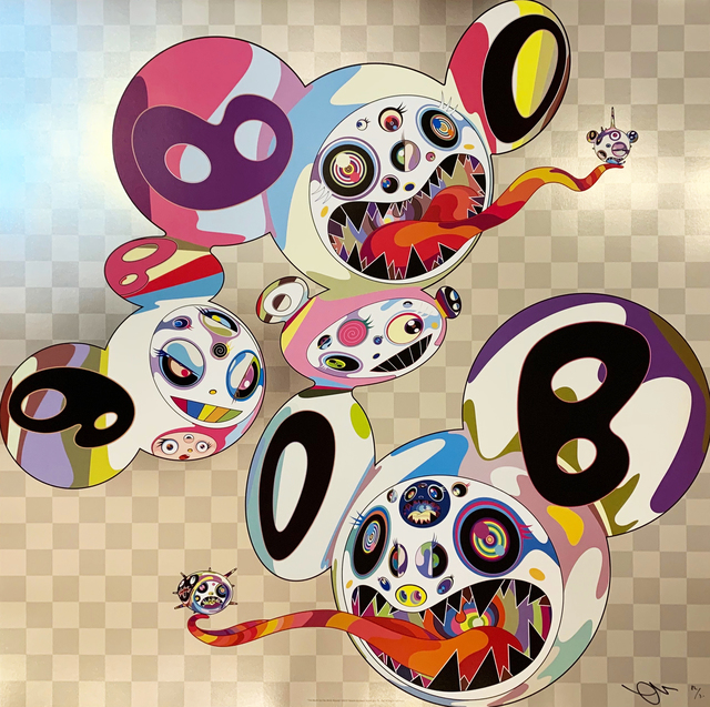 Takashi Murakami, 'This World and the World Beyond', 2013, Print, Offset print with cold stamp, Art Works Paris Seoul Gallery