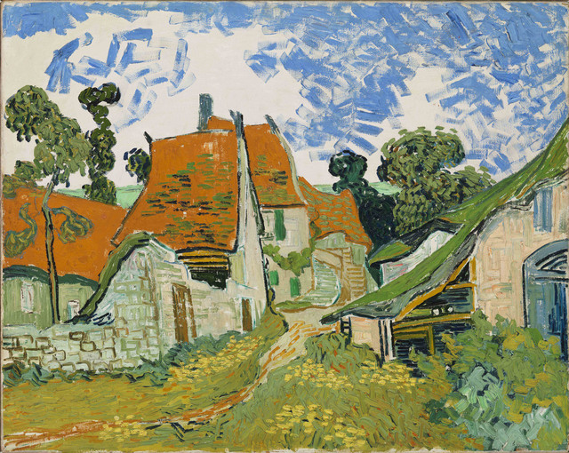 , 'Street in Auvers-sur-Oise ,' 1890, The Metropolitan Museum of Art