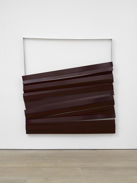 , 'Shutter (Burgundy),' 2017, Lisson Gallery
