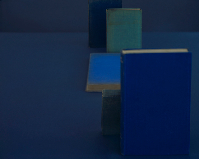, 'Diebenkorn Blues, from the series Blue Books,' 2004, Yancey Richardson Gallery